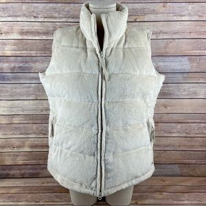 Athleta Puffer Vest Goose Down Full Zip Jacket XL